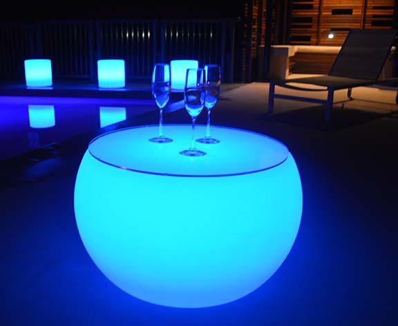 Goglow Party Hire Glowing Tables For Hire Sunshine Coast