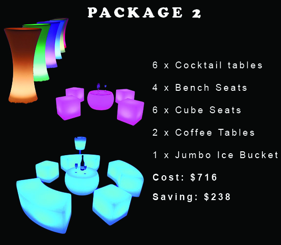 glow furniture package
